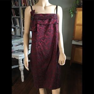 Torrid Black and Red Cocktail Dress Sz18 NWT #128